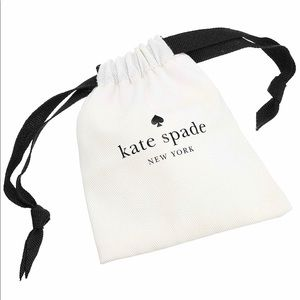 Kate ♠️ Spade white jewelry pouche